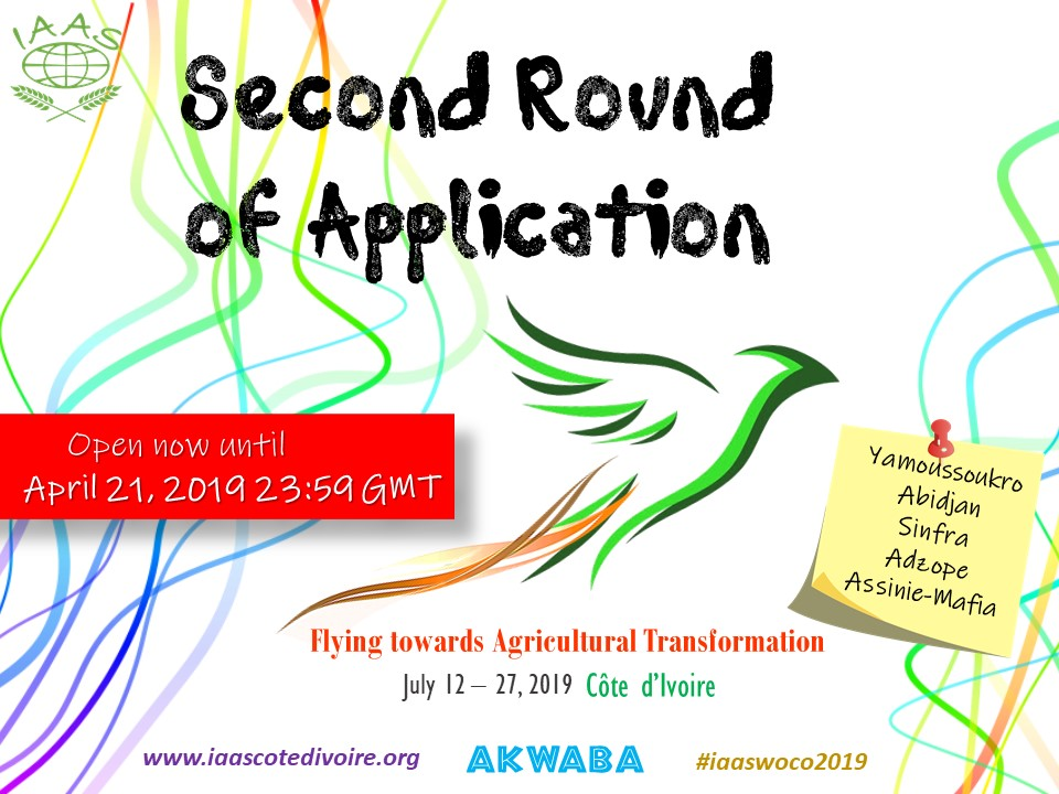 2nd Round of Applications – IAAS CÔTE D'IVOIRE